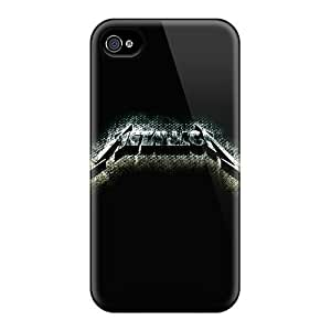 Protective Cases With Fashion Design For Iphone 6plus (metallica)