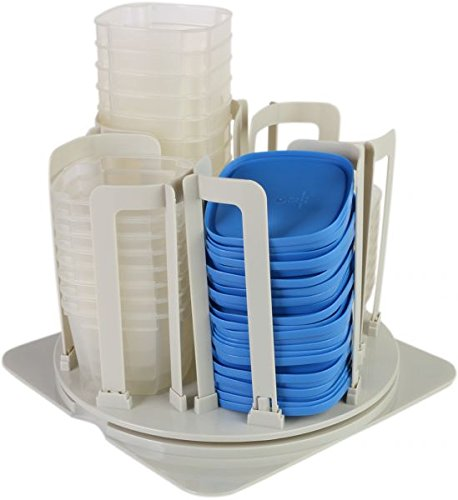 49 Piece Storage System - Smart Spin 49 piece storage system for containers and lids and carousel