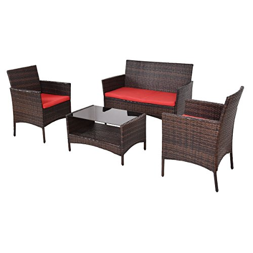 4-pcs-patio-rattan-set-with-tea-shelf-table-and-loveseat-singe-sofa