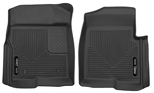 Husky Liners Front Floor Liners Fits 09-14 F-150 SuperCrew/SuperCab/Standard (Mat Standard Ford)