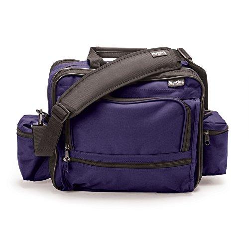 Hopkins Medical Products Mark V Shoulder Bag for Nurses and Home Health Professionals (Purple)