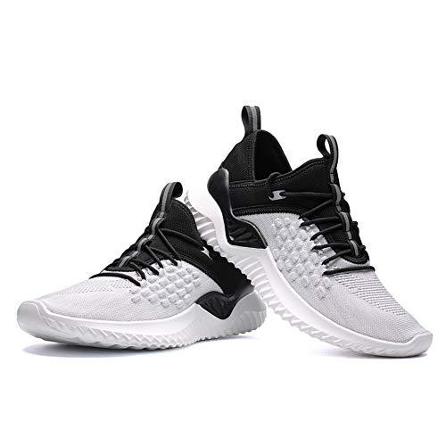 Rutschfest Atmungsaktiv 9607 Herren Outdoor Straßenlaufschuhe Weiß Für Damen Mabove Laufschuhe Sneaker Fitness Running Turnschuhe Gym Trainer Sportschuhe 05xa8wq