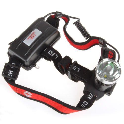 Waterproof 1600 Lumens CREE XM-L T6 3 Modes Adjustable Headlamp - 9