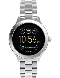 Q Women's Gen 3 Venture Stainless Steel Smartwatch, Color: Silver-Tone (Model: FTW6003)