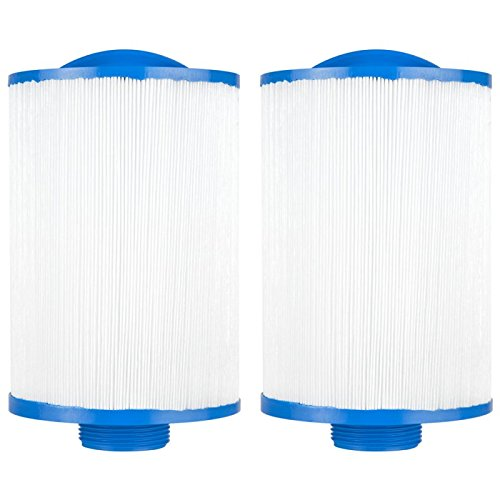 - Clear Choice CCP108 Pool Spa Replacement Cartridge Filter for Vita Spa, Saratoga Spa, Pageant Spa 19 Filter Media, 4-5/8