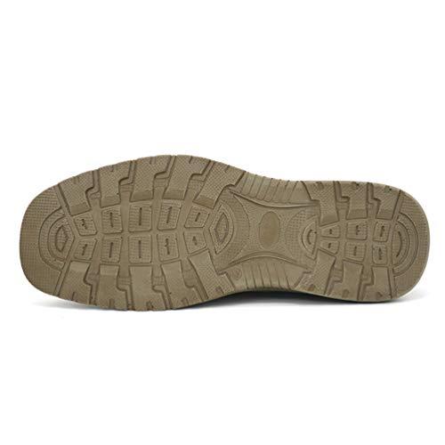 Sandalias Ligeros De Pisos Hombres La Transpirables Los Beige Playa Moda Zapatos Px1H5Wfwq