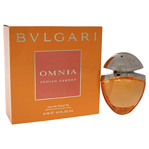 Bvlgari Omnia Indian Garnet Eau de Toilette Spray for Women, 0.5 Ounce