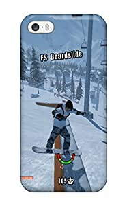 Iphone 5/5s Case, Premium Protective Case With Awesome Look - Shaun White Snowboarding (3D PC Soft Case)
