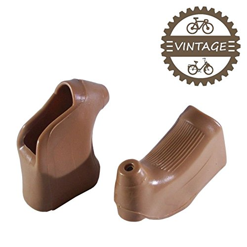 Vintage Road Bicycles (cyclingcolors BRAKE LEVER HOODS BROWN TYPE CAMPAGNOLO MAFAC SHIMANO 600 ARABESQUE BICYCLE VINTAGE ROAD)