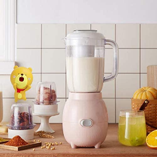 YWSZJ Ménage-électrique Juicer sécurité Coupe Juicer, de jus de Fruits Mixer, Mini Portable Rechargeable Juicing Crush mélange de Glace Smoothie Voyage Mixer Blender