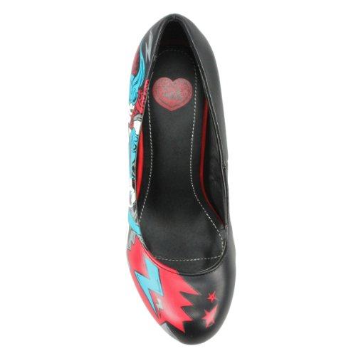 T.U.K. - Zapatos de vestir de material sintético para mujer negro - negro
