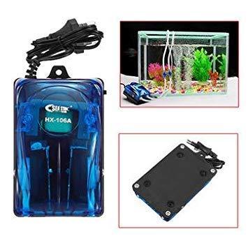 220V 5W EU Plug Aquarium Fish Tank Oxygen Air Pump Double Outlet Super Silent Oxygen Pumps