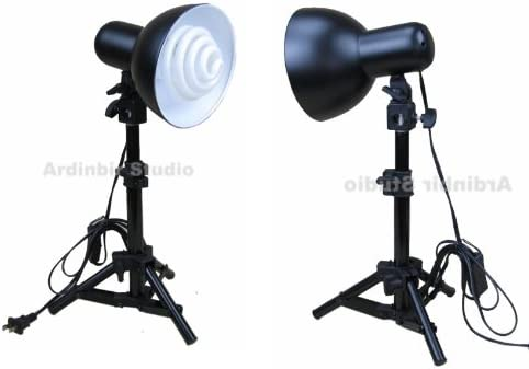 Ardinbir Studio 300w Photo Studio Lighting Kit for Soft Light Box Tent