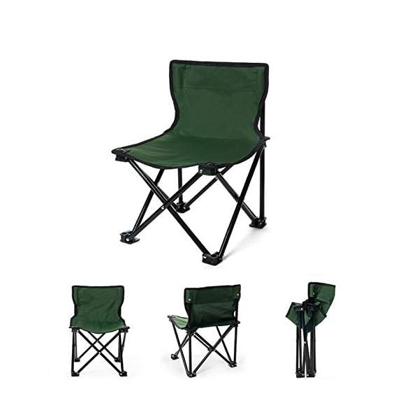 LYZZDY Yxsd Sedie per Il Tempo Libero all'aperto Sedie Pieghevoli Sedie Portatili Sedie da Pesca Picnic Barbecue… 5 spesavip