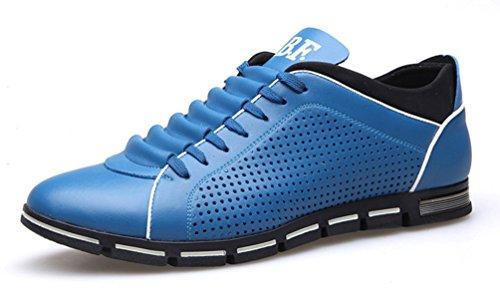 Blau Luftig SHOWHOW Herren Sommerschuhe Sneaker Sportlich Turnschuhe HZYRqHw