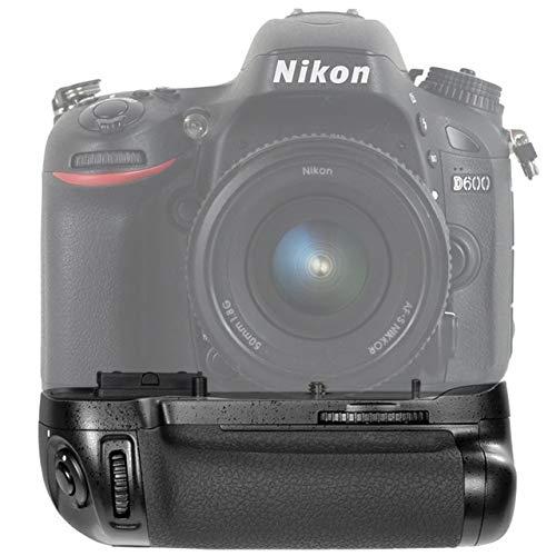 XuBa Power MB-D14 - Soporte Vertical de batería para Nikon D600 ...
