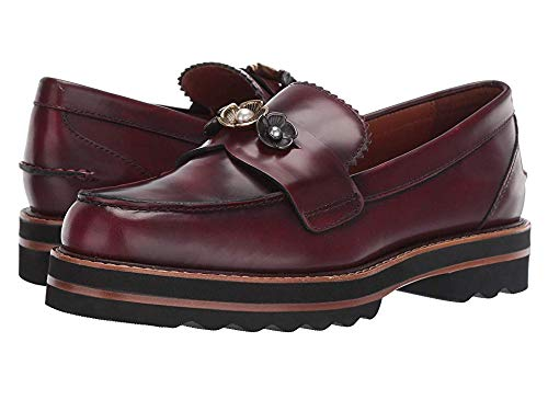 Coach Womens's Lenox Loafer Shoes Cabernet (9.5, ()