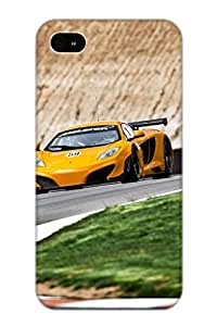 Kathewade Perfect Tpu Case For Iphone 4/4s/ Anti-scratch Protector Case (mclaren Mp4 12c On Track)