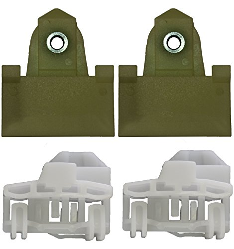 Door Window Channel Kit (PT Auto Warehouse WL-7134809 - Window Sash Channel Door Glass Retainer Kit, 4 pcs - Passenger Side Front)