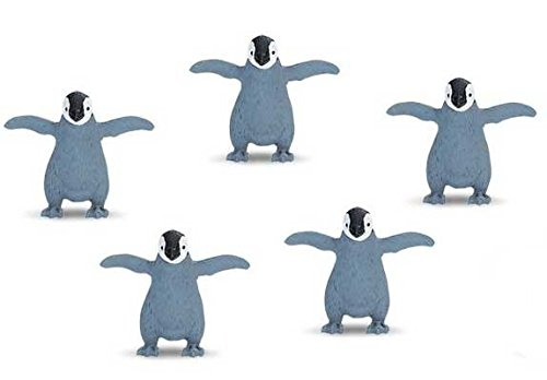 Emperor Penguin Chick (Safari Good Luck Minis - Emperor Penguin Chick (Set of 5) by Safari)