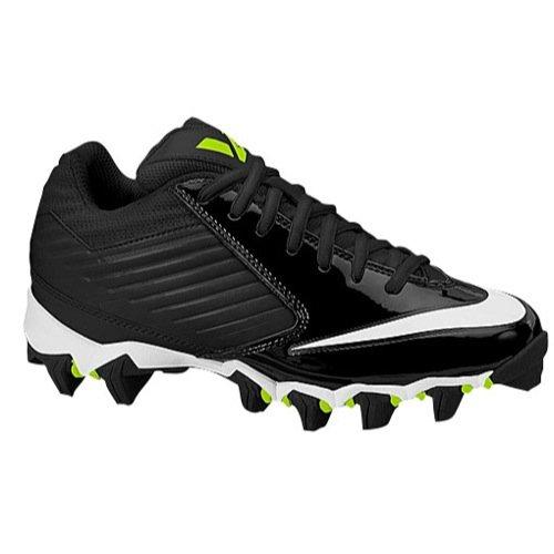 Nike Alpha Shark 3/4 Football Cleats Youth Boys GS Size 1.5 Black