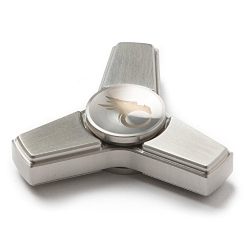 Cool Fidget Spinner Metal Toy – Stainless Steel Hand Spinner, Finger Figit Toy with Nice Gift Case