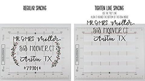 The Original Envelopemate - 3 Stencil Templates-in-One