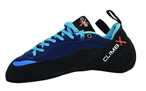 Climb X Crush Lace - Blue - 2019 Rock Climbing/Bouldering Shoe (10.5)