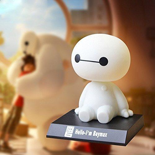LifeJoy Big Hero 6 Baymax Bobblehead Puppe Spielzeug Autozubehör / Dashboard Bobblehead für Auto / Innendekoration, Geschenk des Kindes