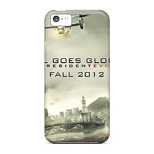 [aQFgJNz4452jWkZg] - New Resident Evil Retribution 2012 Protective Iphone 5c Classic Hardshell Case