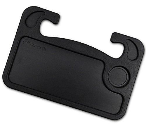 Zone Tech Car Laptop and Food Steering Wheel Tray (Black) (Website Ideas For Kids)