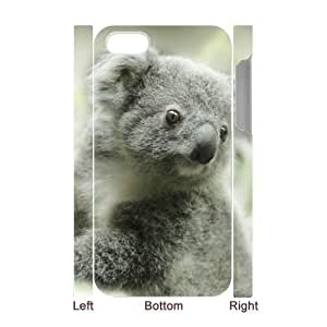3D Bumper Plastic Case Of Koala customized case For Iphone 4/4s