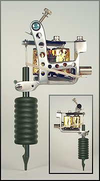Amazon.com: Big Joe\'s Left Handed Tattoo Machine (Aluminum Custom ...