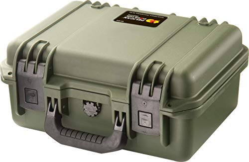 Waterproof Case (Dry Box) | Pelican Storm iM2100 Case With Foam (OD Green)