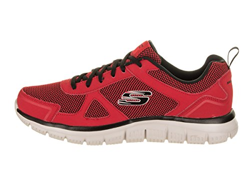 Rojo Burns Skechers Black Agoura 52635 RnIn8Xq