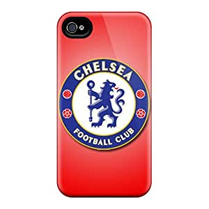 Browncases SpZ1943yWQs Case For Iphone 4/4s With Nice Chelsea Fc Appearance