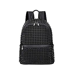 Black Rivet Lapto Backpack