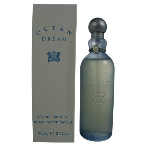 Designer Parfums of London Ocean Dream Eau De Toilette Spray for Women, 3.0 Fluid Ounce (Designer Outlet London)