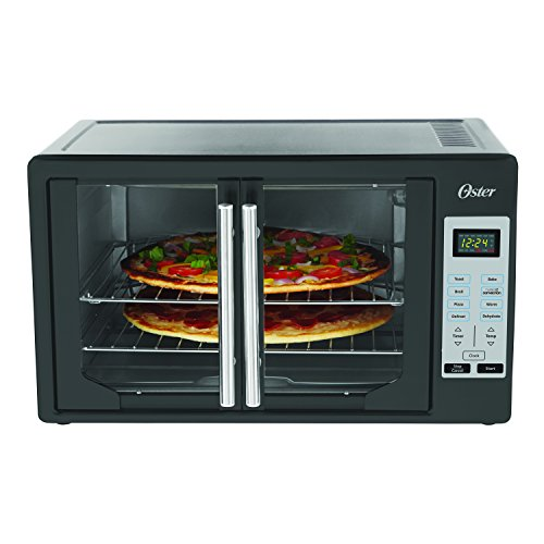 Oster TSSTTVFDDG Digital French Door Oven - Black