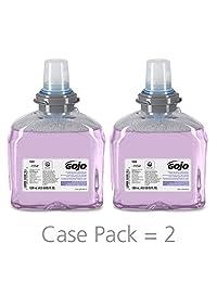 GOJO 536102 TFX Luxury Foam Hand Wash, Fresh Scent, Dispenser, 1200mL, 2/Carton