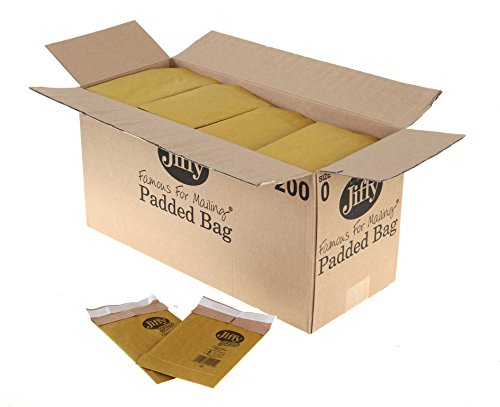 Jiffy Padded Bag Size 0 Box Of 200 - Color: Size 0
