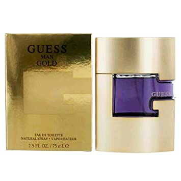 Guess Gold by Guess Eau De Toilette Spray 2.5 oz 75 ml