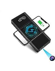YYLUUT Mini-camera met 32G SD-kaart 1080P draagbare kleine bewakingscamera 10.000mAh powerbank camera met nachtzicht bewegingsdetectie nanny-videocamera loopopname