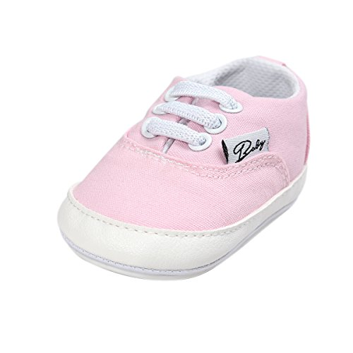 HLM Infant Girl Shoes Baby Newborn Girl Girls Boy Boys Kids Babies Toddlers Dress Tennis Walking Running Size 4 5 Black White Pink Shoes Sneakers