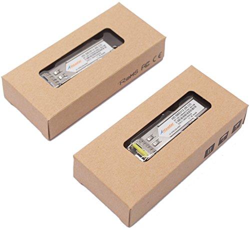 [1 Pair] Handar for Cisco 1.25G BiDi SFP Transceiver Tx1310nm/Rx 1550nm and Tx1550nm/Rx1310nm DFP PIN Single Mode LC Connector 20km by Handar (Image #4)