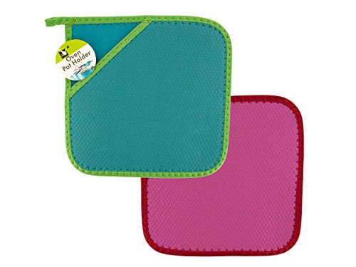 Neoprene Oven Pot Holder - Pack of 24 by Handy Helpers