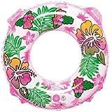 イガラシ ハワイアンリゾート浮き輪(ピンク) 直径70㎝