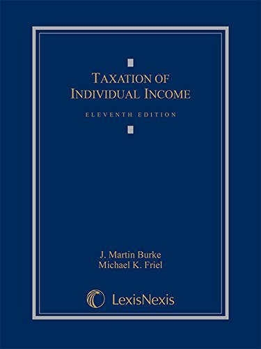 Taxation of Individual Income by J. Martin Burke (2015-07-21)