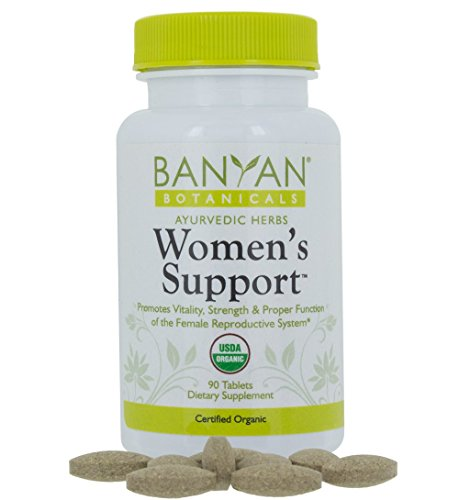 Support Formula Womens (Banyan Botanicals Women's Support - USDA Organic, 90 tablets - Herbal Support for Hormone Balance, Menstrual Relief*)