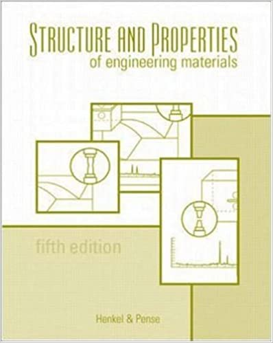 Download online Structures and Properties of Engineering Materials PDF